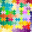 Royalty-Free Stock Photo: Jigsaw puzzle pattern