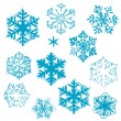 Royalty-Free Stock Photo: Snowflake designs