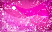 Fantasy snowflakes light pink — Stock Photo