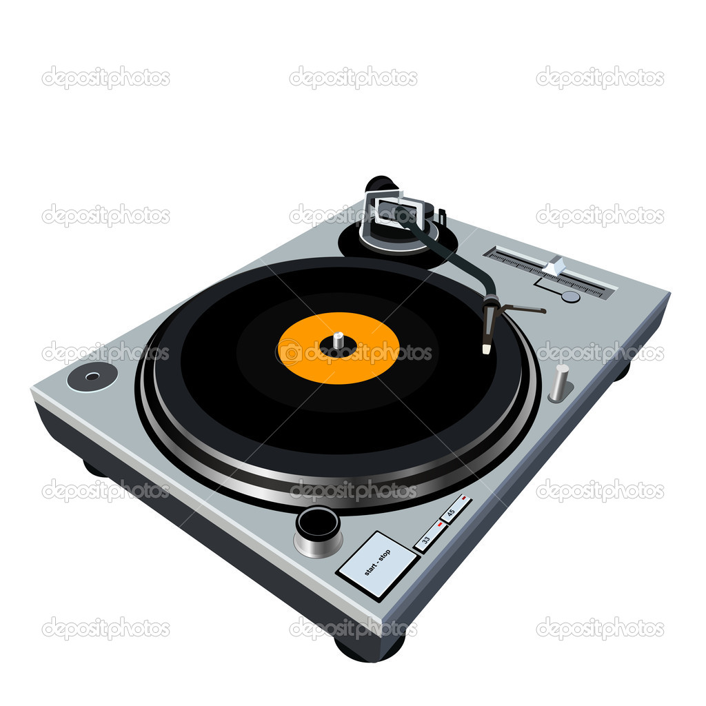 Turntable stock photo dip2000 1617199 for Car turntable plans