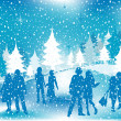Royalty-Free Stock Photo: Christmas illustration