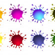 Royalty-Free Stock Photo: Ink splash