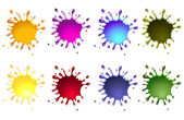 Ink splash — Stock Photo