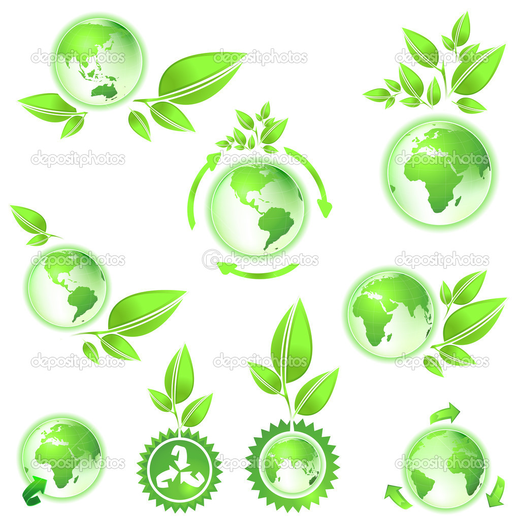 Environmental conservation symbol planet earth  Stock Photo #1641811