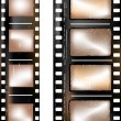 Stock Photo: Textured film strip