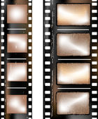 Textured film strip — Stock Photo