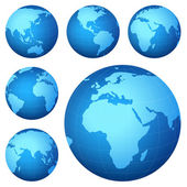 Mapa de planeta — Foto de Stock