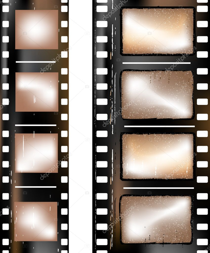 Old grunge textured film strip — Stock Photo #1731739