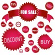 Royalty-Free Stock Photo: Sale stickers
