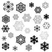 Snowflake designs — Stock Photo