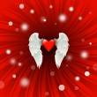 Valentine design — Stockfoto