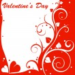 Stock Photo: Valentine design card