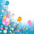 Easter design - Stock Photo