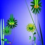 Whimsical flowers — 图库照片 #2426665