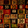 Royalty-Free Stock Photo: House numbers