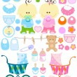 Royalty-Free Stock Vector Image: Baby stuff