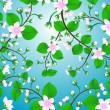 Royalty-Free Stock Vector Image: Blossom tree