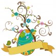 Easter tree — Stock Vector #2532170