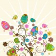Easter tree — Stock Vector #2534340