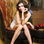 Woman in the luxurios interior — Stock Photo