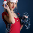 Santa girl — Stock Photo #1433697