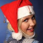 Santa girl — Stock Photo #1433720