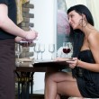 orde in restaurant — Stockfoto