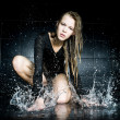 Wet woman — Stock Photo #1618309