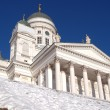 Helsinki cathedra - Stock Photo