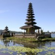 Bali lake temple — Stock Photo