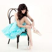 Bailarina va a bailar — Foto de Stock