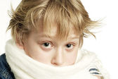 Sick boy — Stock Photo