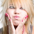 Emo girl portrait — Stockfoto #1585656
