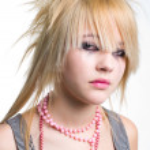 Crying emo girl portrait — Stock Photo
