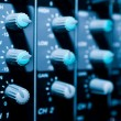Mixer sistem bacground - Stock Photo