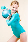 Gymnastics ball — Stock Photo