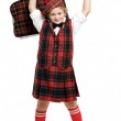 Scotsman boy — Stock Photo