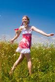 Enjoing summertime — Stock Photo