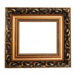 Antique empty picture frame — Stock Photo