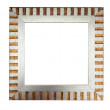 Modern empty picture frame — Stock Photo #1742306