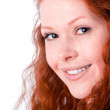 Beautiful redheaded girl — Stock Photo #1746891