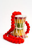 Rastafarian drum — Stock Photo