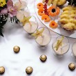 Stock Photo: Sweets background