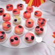 Jelly cakes on plate — Stockfoto #2100093