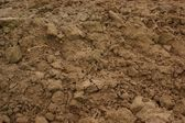 Brown soil — Stock Photo
