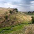 Donbass landscape - Stock Photo