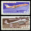 Old Soviet stamps (1965). — Stock Photo #1669510