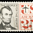 Stock Photo: Vintage USA postage stamp
