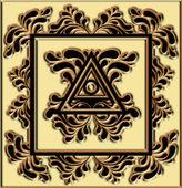 Unusual symbol — Stock Photo