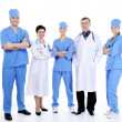 Stock Photo: Successful doctors standing together